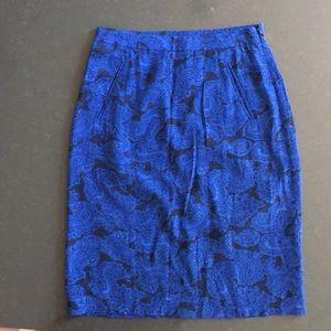 Madewell Broadway & Broome Midi Skirt, Size 0